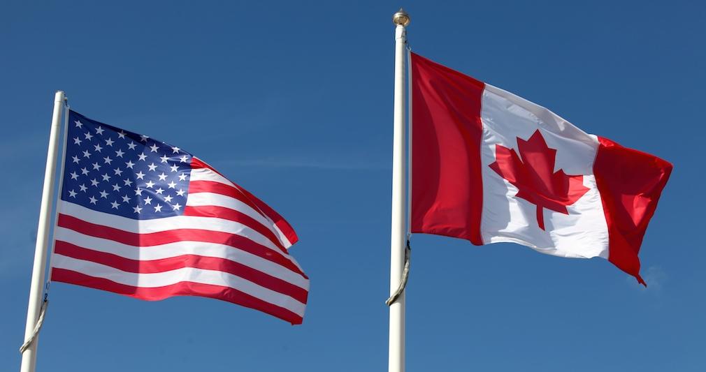 Canada_US_flag
