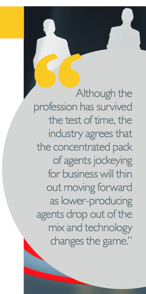 Real estate agents have been around for 100 years, who will survive the next century?