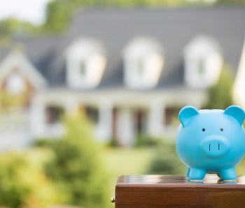 Real estate sale, home savings, loans market