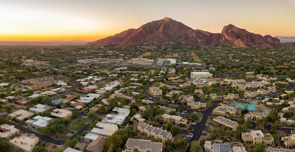 Arizona valley and resorts