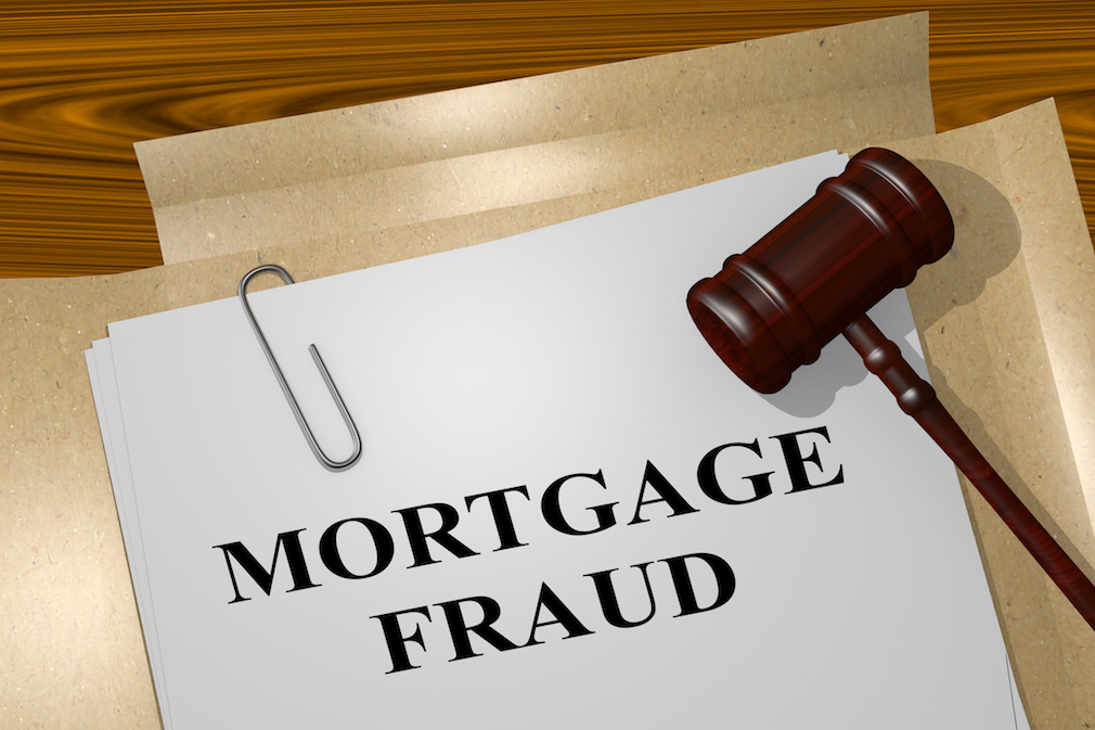 Mortgage Fraud concept