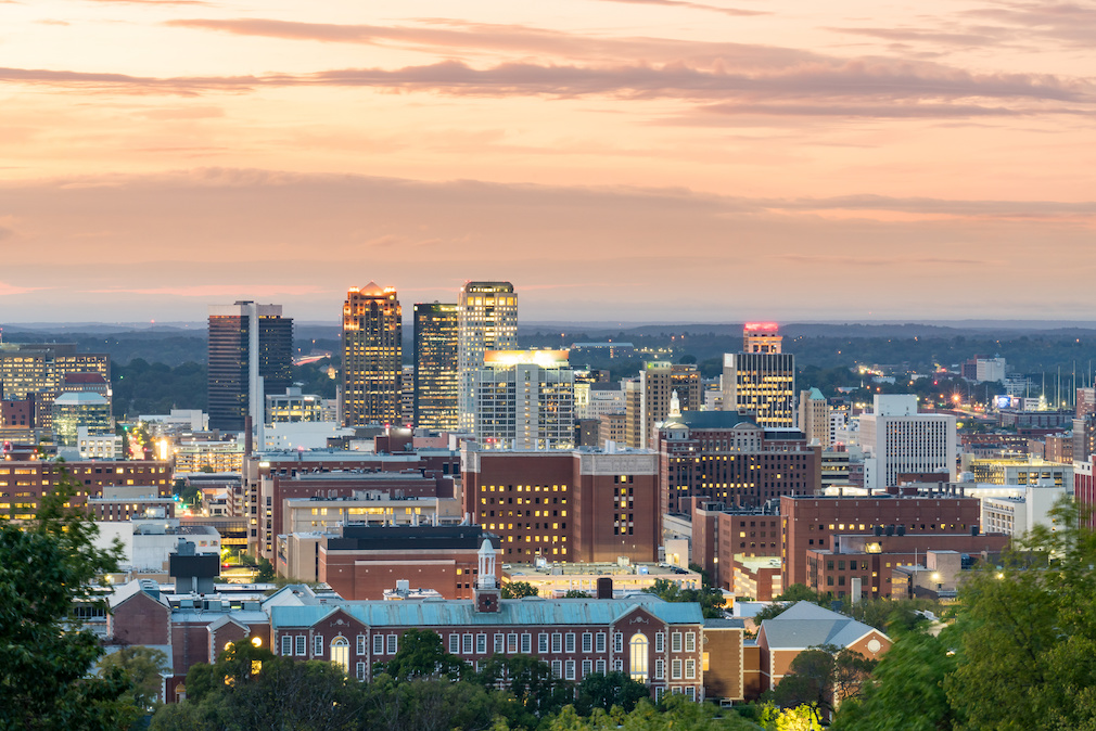 Birmingham, Alabama City Skyline