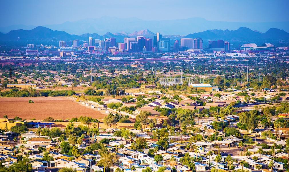 City of Phoenix Panorama