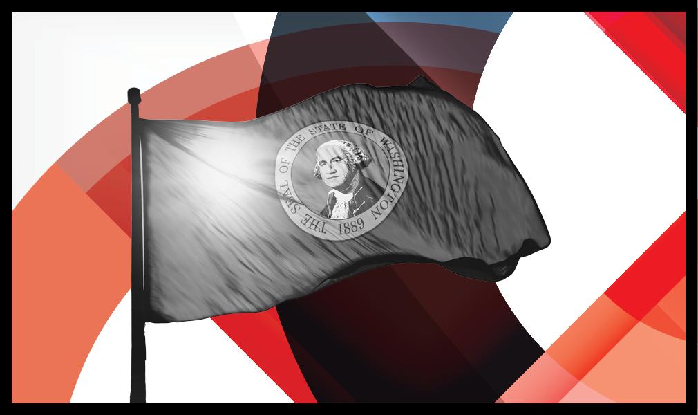 Washington state flag_