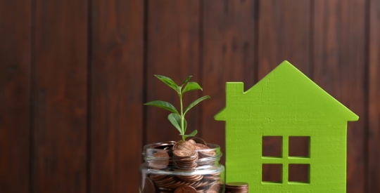 rise, grow, sprout, gain house mortgage loan