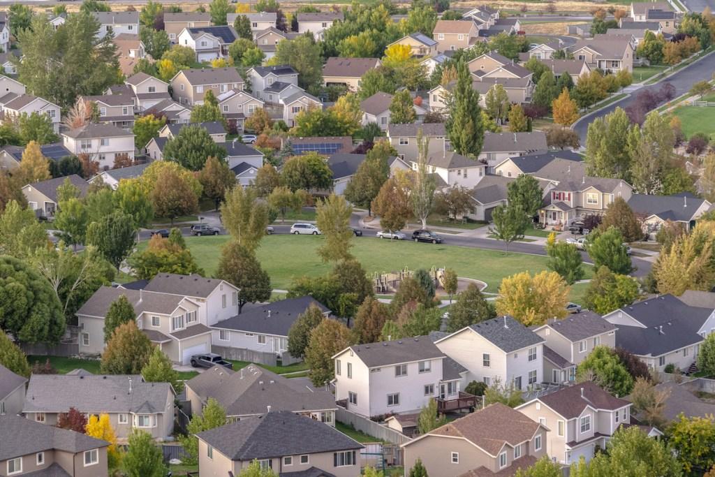 Suburb neighborhood