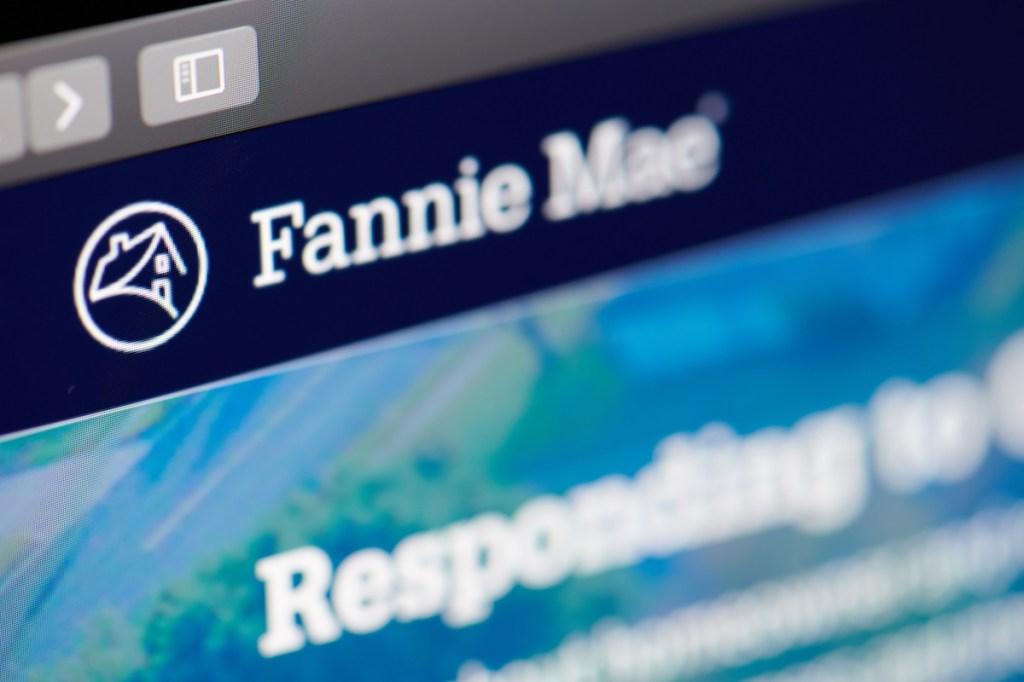 Fannie Mae home web page