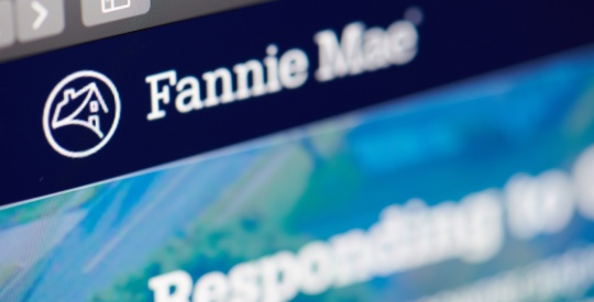Fannie Mae home web page
