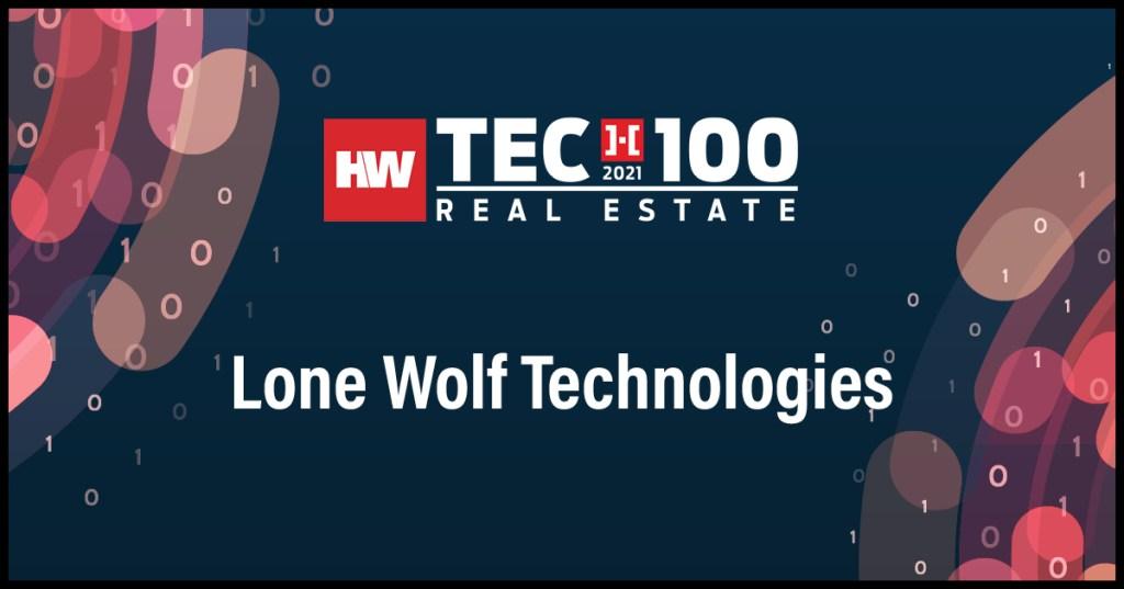 Loan Wolf Technologies - 2021 Tech100 winners -Real Estate