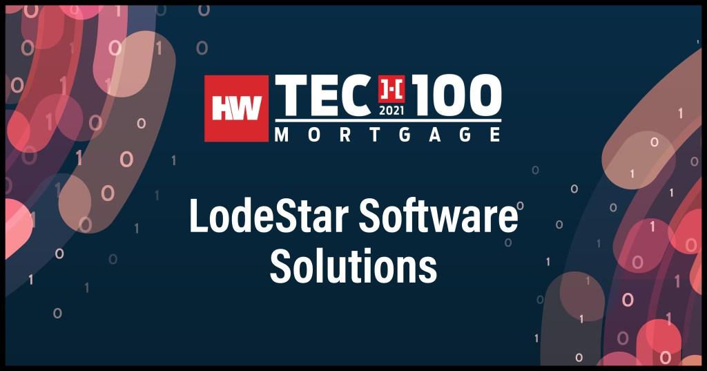 LodeStar Software Solutions-2021 Tech100 winners-mortgage
