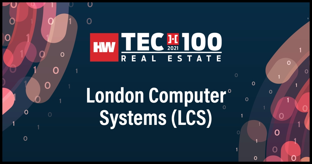 London Computer Systems (LCS)-2021 Tech100 winners -Real Estate
