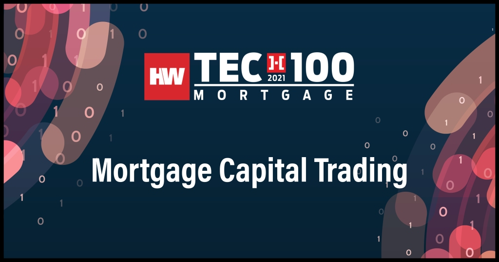 Mortgage Capital Trading-2021 Tech100 winners-mortgage