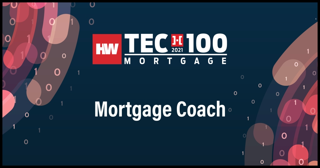 Mortgage Coach-2021 Tech100 winners-mortgage