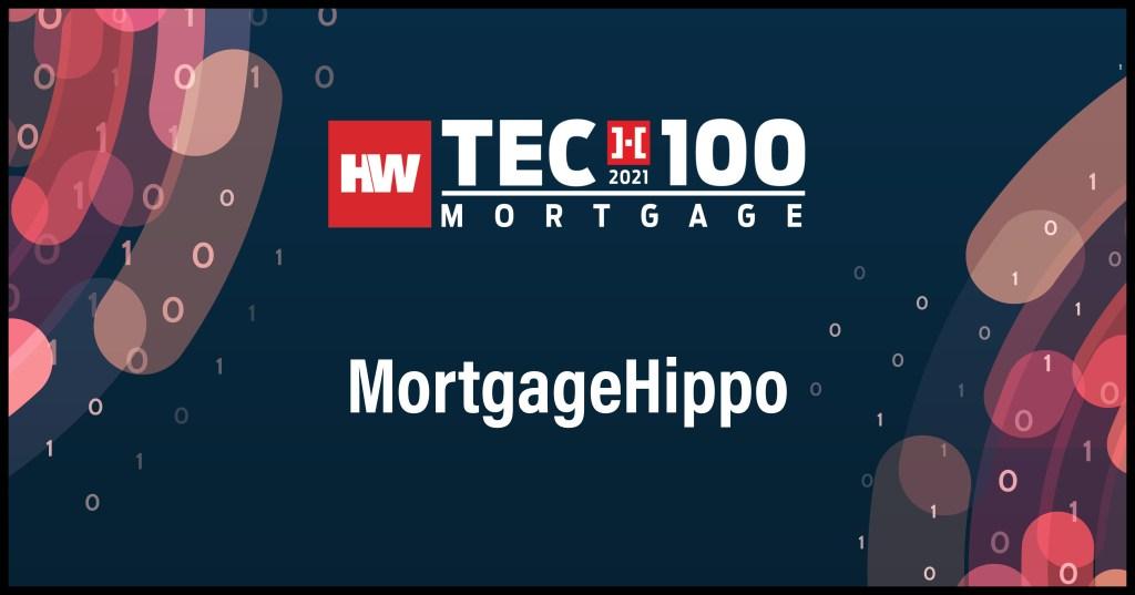MortgageHippo-2021 Tech100 winners-mortgage