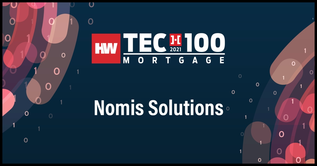 Nomis Solutions-2021 Tech100 winners-mortgage