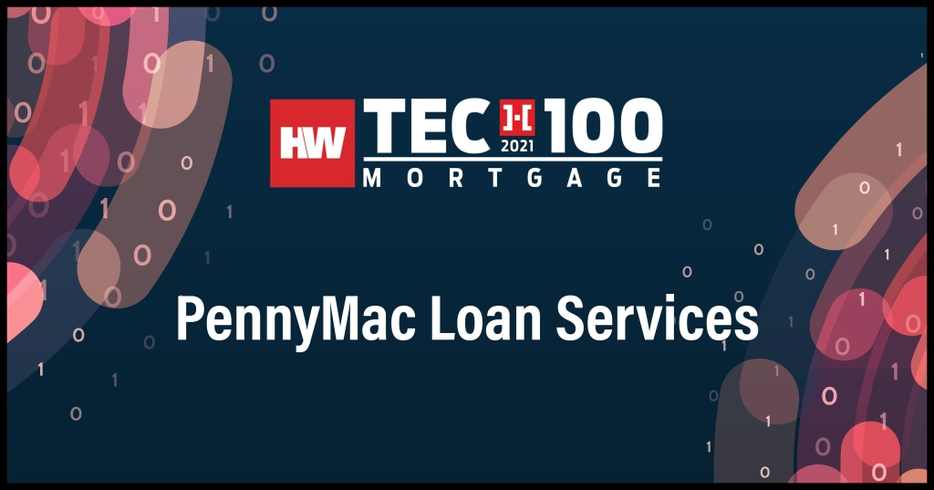 PennyMac Loan Services-2021 Tech100 winners-mortgage