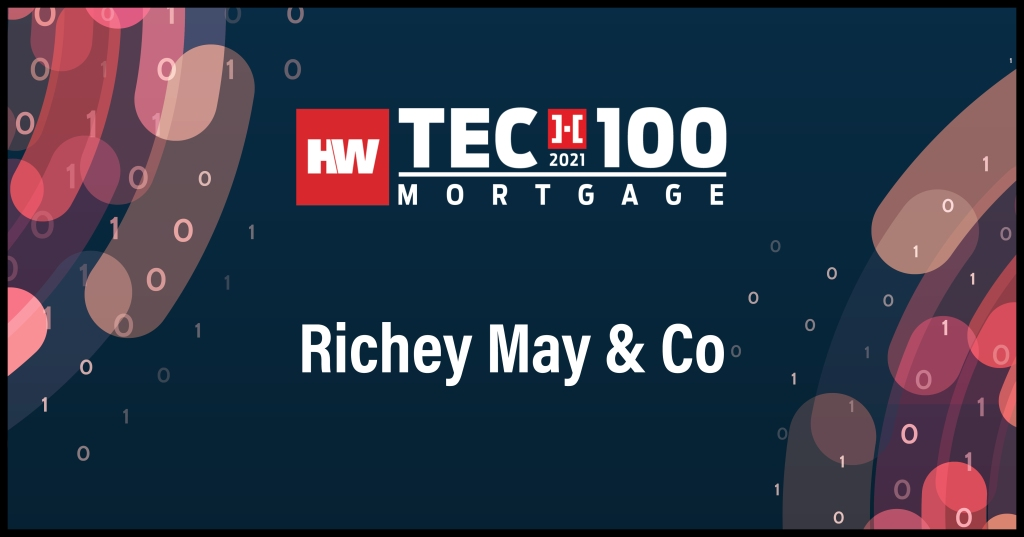 Richey May & Co-2021 Tech100 winners-mortgage