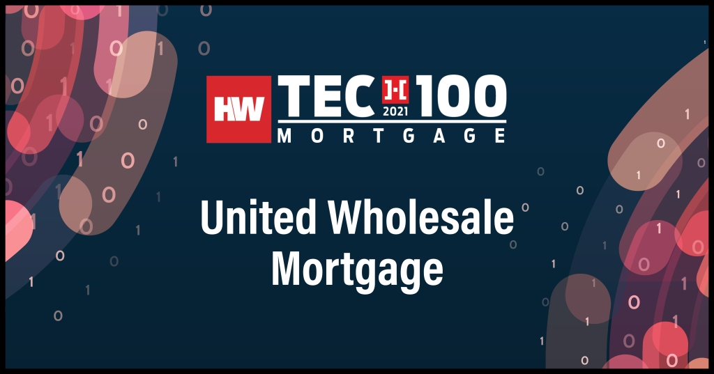 United Wholesale Mortgage-2021 Tech100 winners-mortgage