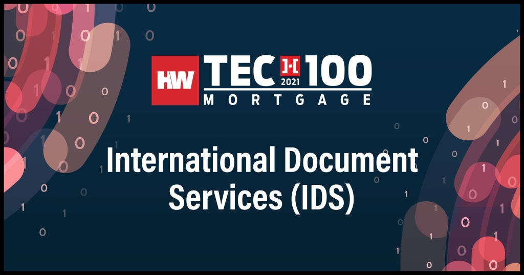 International Document Services (IDS)-2021 Tech100 winners-mortgage