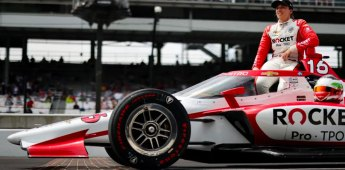 Rocket Pro TPO Announces Primary Sponsorship of #16 Chevrolet Piloted by Simona De Silvestro in the Indianapolis 500
