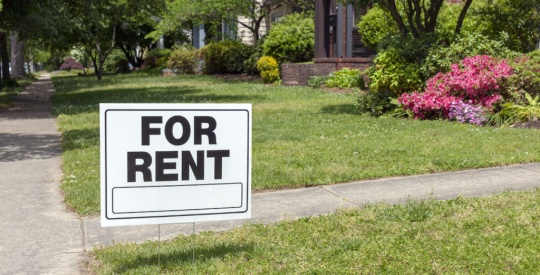 for rent sign for renters