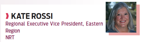 Kate Rossi, regional executive vice president, Eastern region, NRT