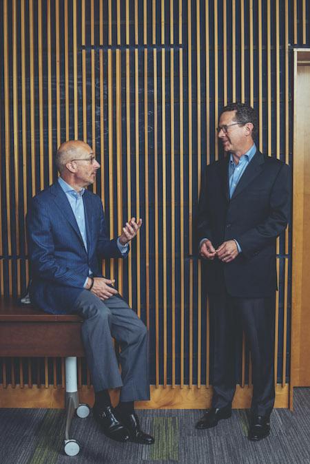 Tim Mayopoulos and David Benson