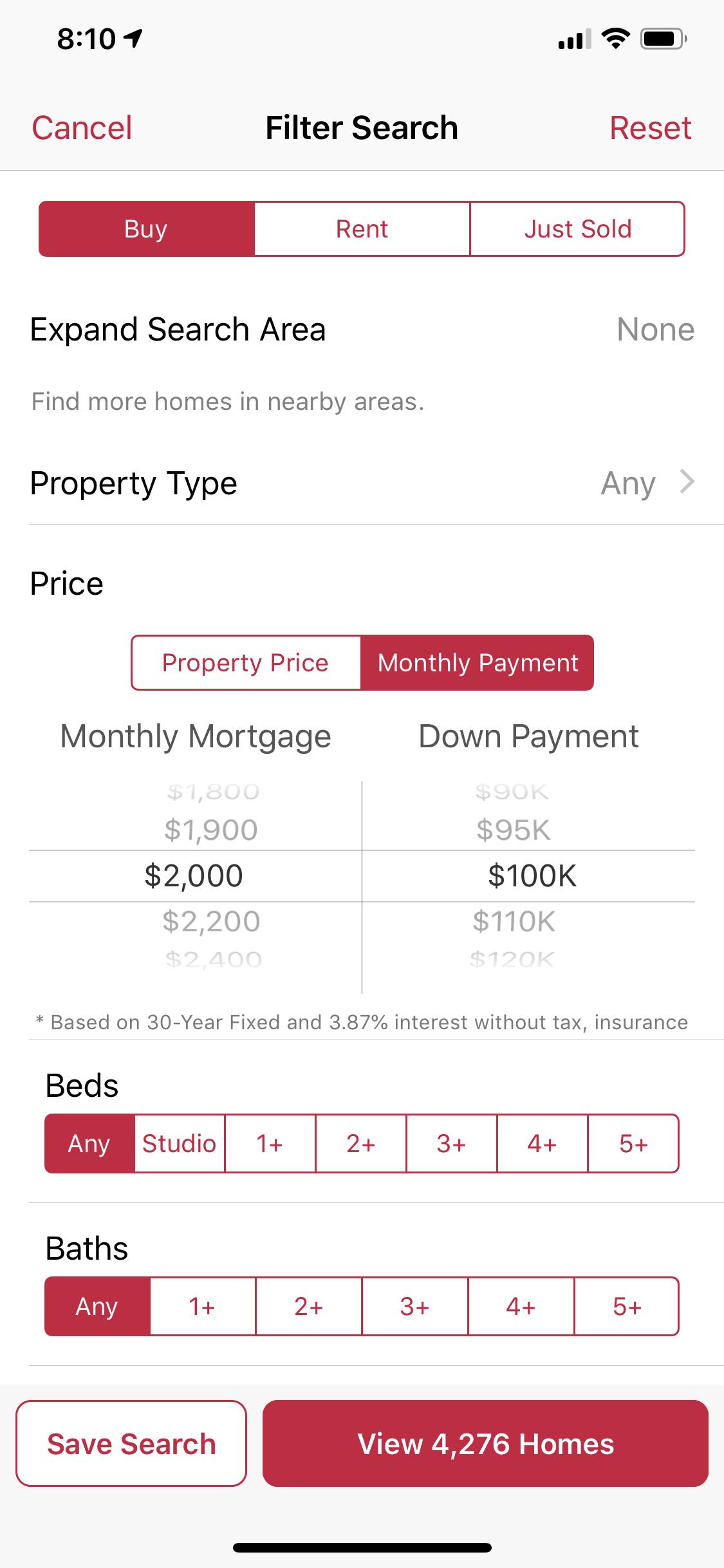 zillow offers screen shot