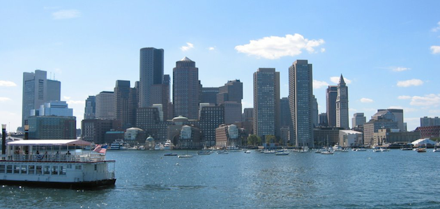 Boston skyline during the day