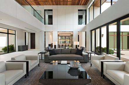 DJ Khaled's Miami Beach home, interior