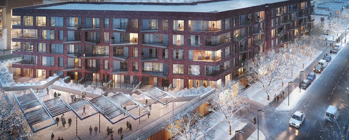 Titletown rendering