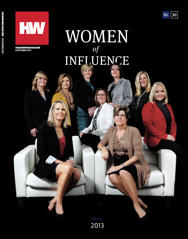 HousingWire Nov. 2013 cover