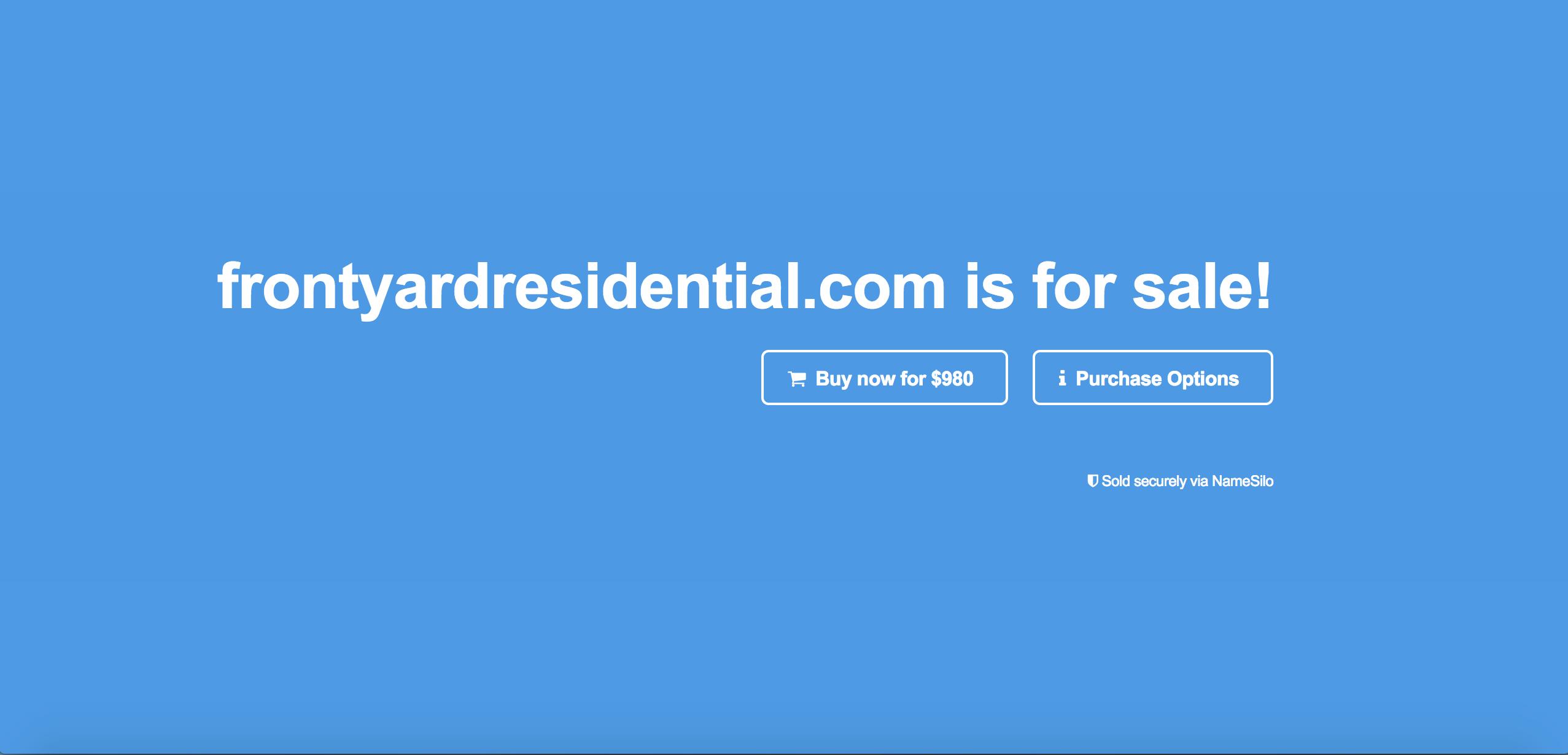 Frontyardresidential.com