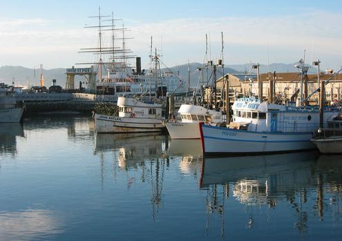 San Francisco water boats harbor